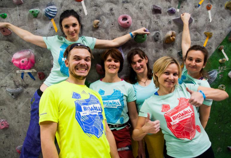 Команда Клуба скалолазания proClimb