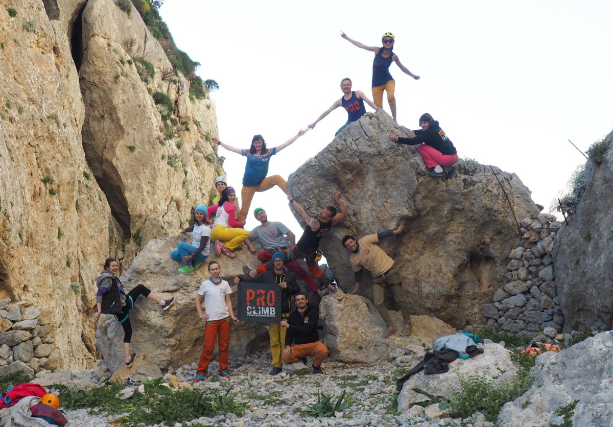 Выездная школа скалолазания. Скалолазание на Калимносе с Клубом скалолазания proClimb