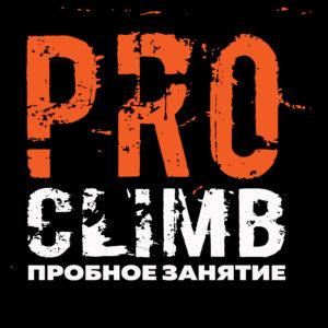Школа скалолазания proClimb. Стоимость разового занятия по скалолазанию в Москве 450 руб.