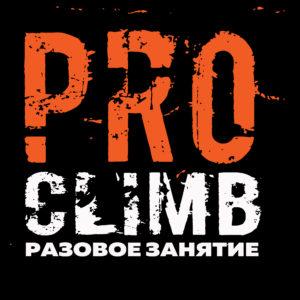Школа скалолазания proClimb. Стоимость разового занятия по скалолазанию в Москве 650 руб.