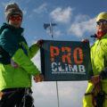 Клуб скалолазания proClimb на вершине Казбека
