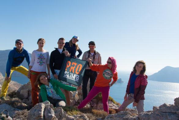 Выезд Клуба скалолазания proClimb на Калимнос осенью 2017